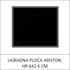 UGRADNA PLOČA ARISTON HR 642 X CM