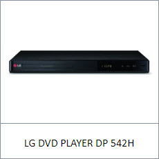 LG DVD PLAYER DP 542H