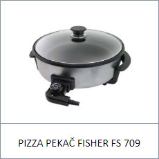 Pizza Pekač Fisher FS 709
